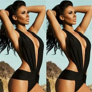 Other - Black one piece swimsuit